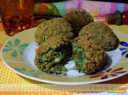 polpette di spinaci e ricotta / meatballs with spinach and ricotta cheese