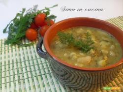 minestra di finocchietto e cannellini