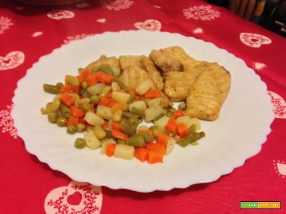Pesce spada allo zenzero e salsa di soia