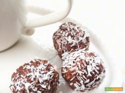 Chokladbollar – Polpette svedesi di cioccolato