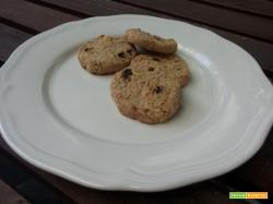 Biscotti con farina integrale e mueslì (senza zucchero)