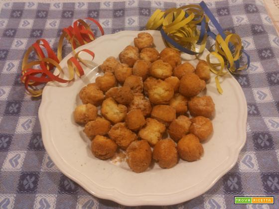 Le mie castagnole senza zucchero (saccarosio)