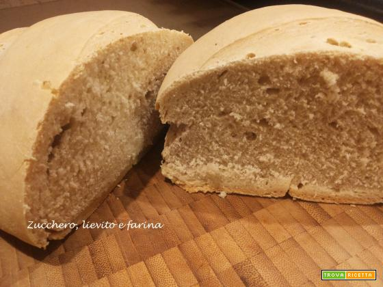 Pane toscano di riciclo di pasta madre (Sorelle Simili)