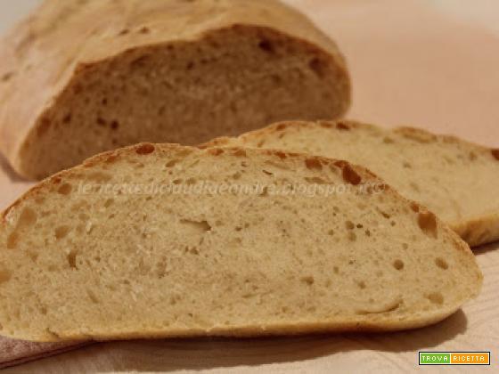 Ciabatta con farina di farro e lievito madre