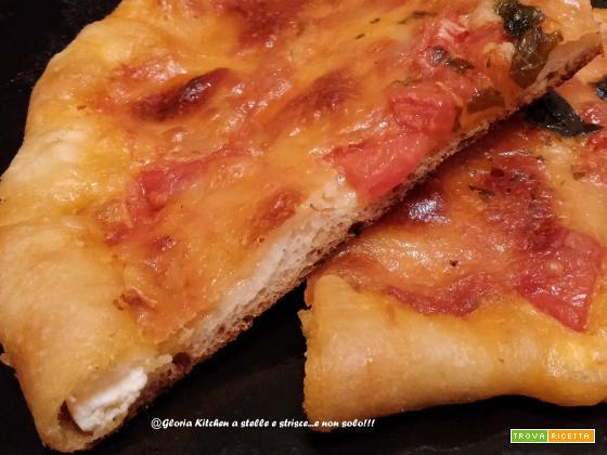 Pizza Crosty con Ricotta di Gloria KitchenUSA