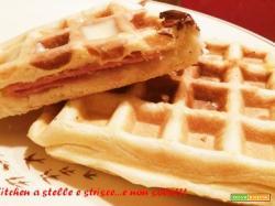 Waffle-Pizza di Gloria KitchenUSA