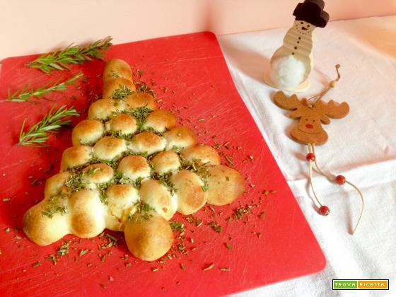 Albero di Natale al formaggio