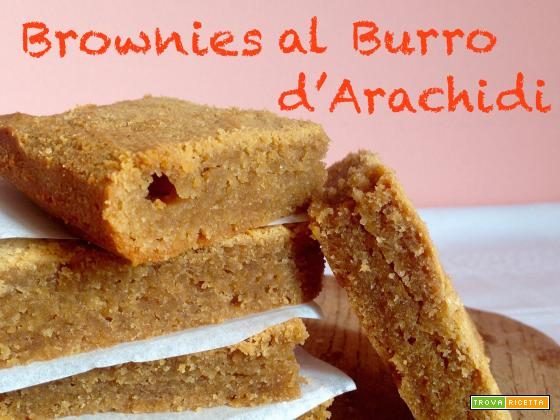 Brownies al Burro d'Arachidi