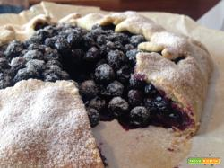 Crostata di Mirtilli Rustica
