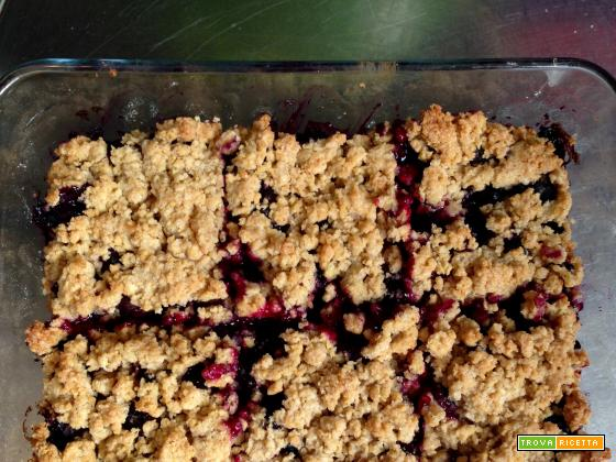 Crumble di Mirtilli