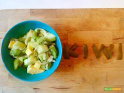 Insalata di Kiwi, Mango e Cetrioli