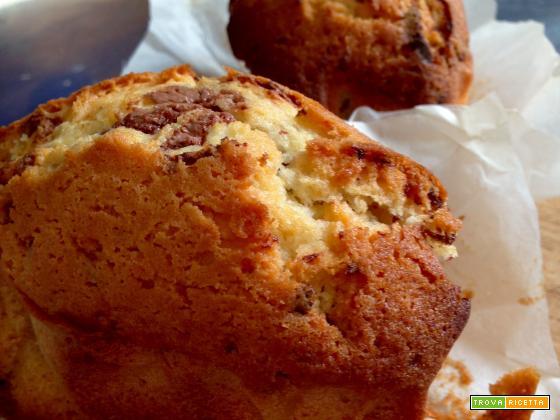 MiniPlumcake al Cioccolato al Latte