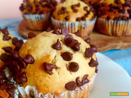 Muffin al Burro d'Arachidi