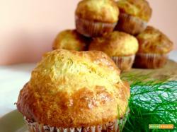 Muffin Salati al Salmone e Aneto