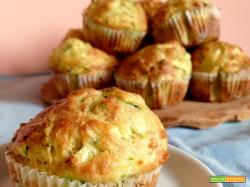 Muffin Salati al Tonno e Zucchine