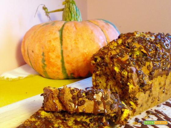 Plumcake di Zucca e Cioccolato