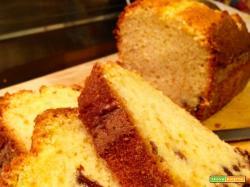 Plumcake soffice con uvetta