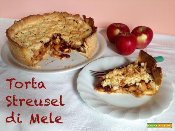 Torta Streusel di Mele