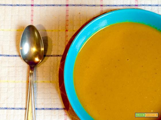 Zuppa di Zucca Tailandese