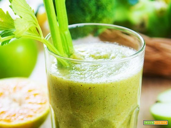 Frullato carote e broccoli, previene disturbi della memoria