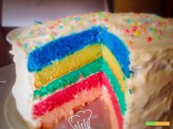 Torta arcobaleno: una festa di colori e dolcezza