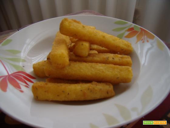 Bastoncini fritti di polenta