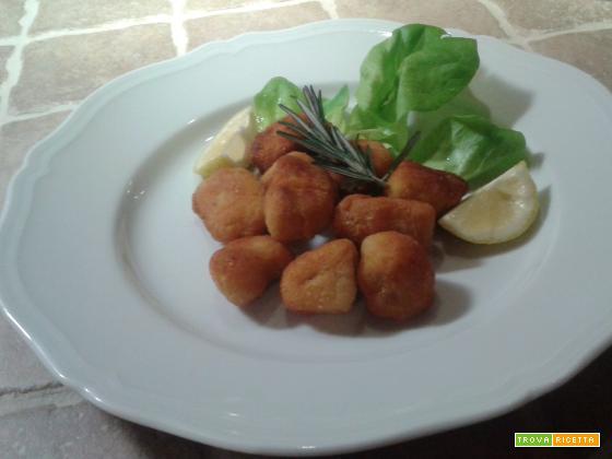 Bocconcini di Pollo fritti al profumo di Limone