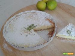 Cheesecake al profumo di lime
