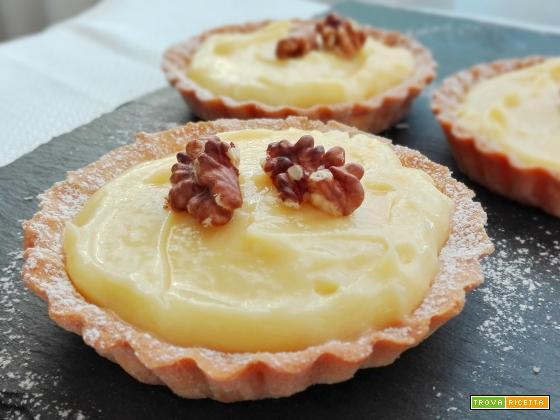Crostatine al Lemon Curd