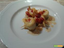 Filetti di Sogliola alla pizzaiola di pomodoro