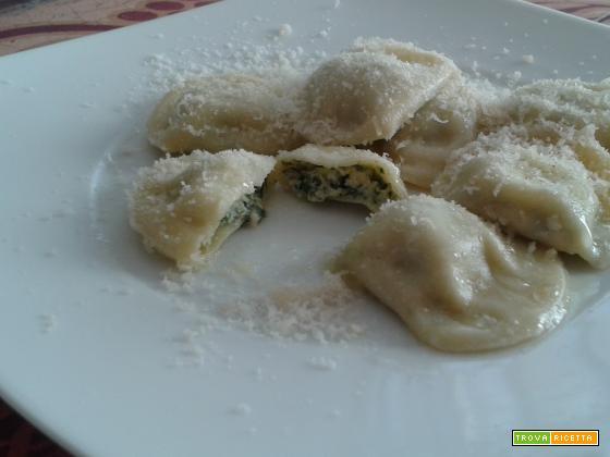Tortelli Mezzaluna agli spinaci