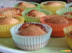 Muffins bacon e scamorza