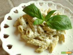 Pennette con Pesto alla Genovese e Ricotta