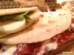 Piadina all'olio di oliva