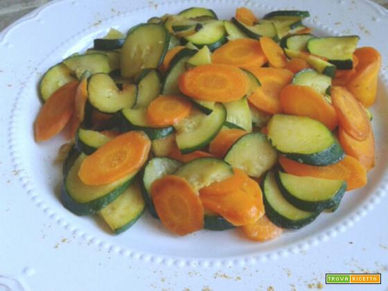 Spadellata di Verdure al Curry