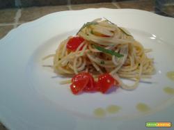 Spaghetti al Cipollotto con erbe aromatiche