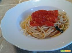 Spaghetti e San Marzano confit
