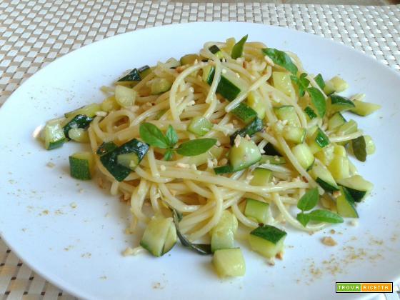 Spaghetti con Zucchine al Curry