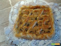 Torta Rustica con Speck e Funghi