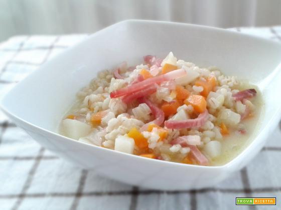 Zuppa saporita d'orzo