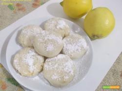 Biscotti con farina di riso al limone