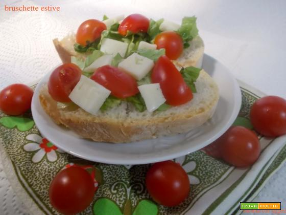 bruschette estive