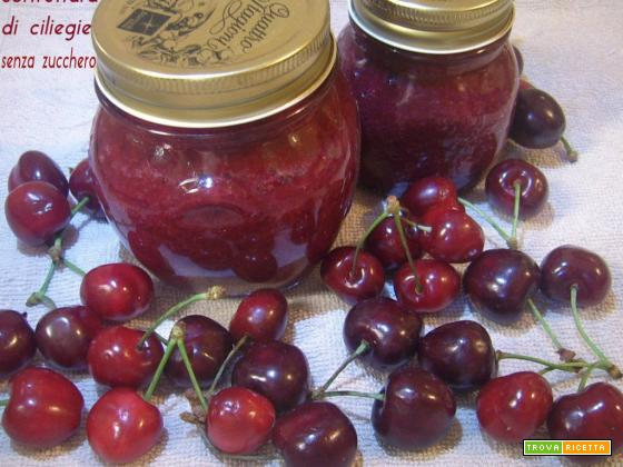 Confettura di ciliegie senza zucchero