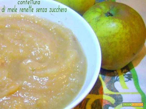 Confettura di mele renette senza zucchero