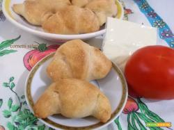 Cornetti salati - lievito madre