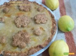 Crostata integrale alla marmellata di limoni