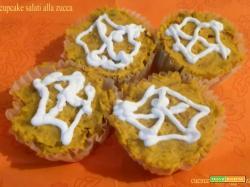 Cupcake salati alla zucca - ricetta di halloween