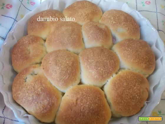 Danubio salato con lievito madre