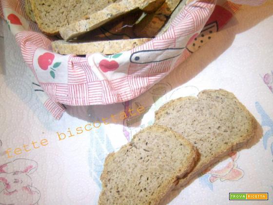 Fette biscottate integrali - lievito madre