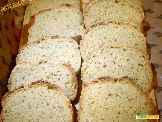 Fette biscottate - lievito madre